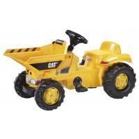 ROLLY TOYS Мини трактор с ковшом DumperKid CAT 024179