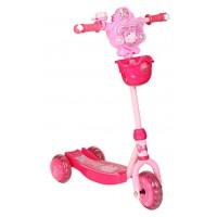 Самокат Lider Kids Xg5307 (игрушка киска/робот)